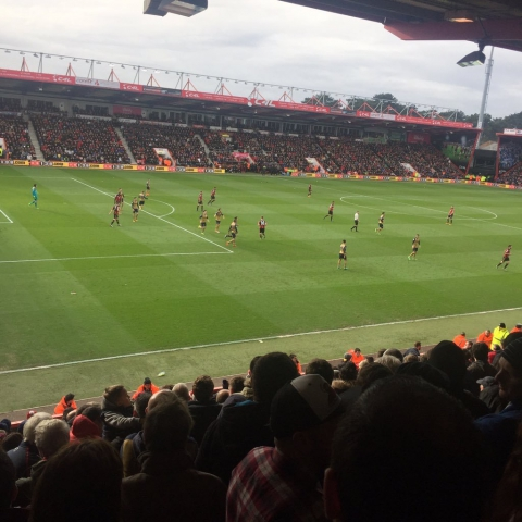AFC Bournemouth v Arsenal 07-02-2016