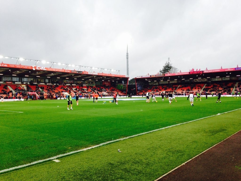 AFC Bournemouth v Crystal Palace 26-12-2015