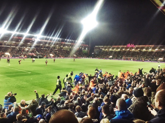 AFC Bournemouth v Everton 28-11-2015