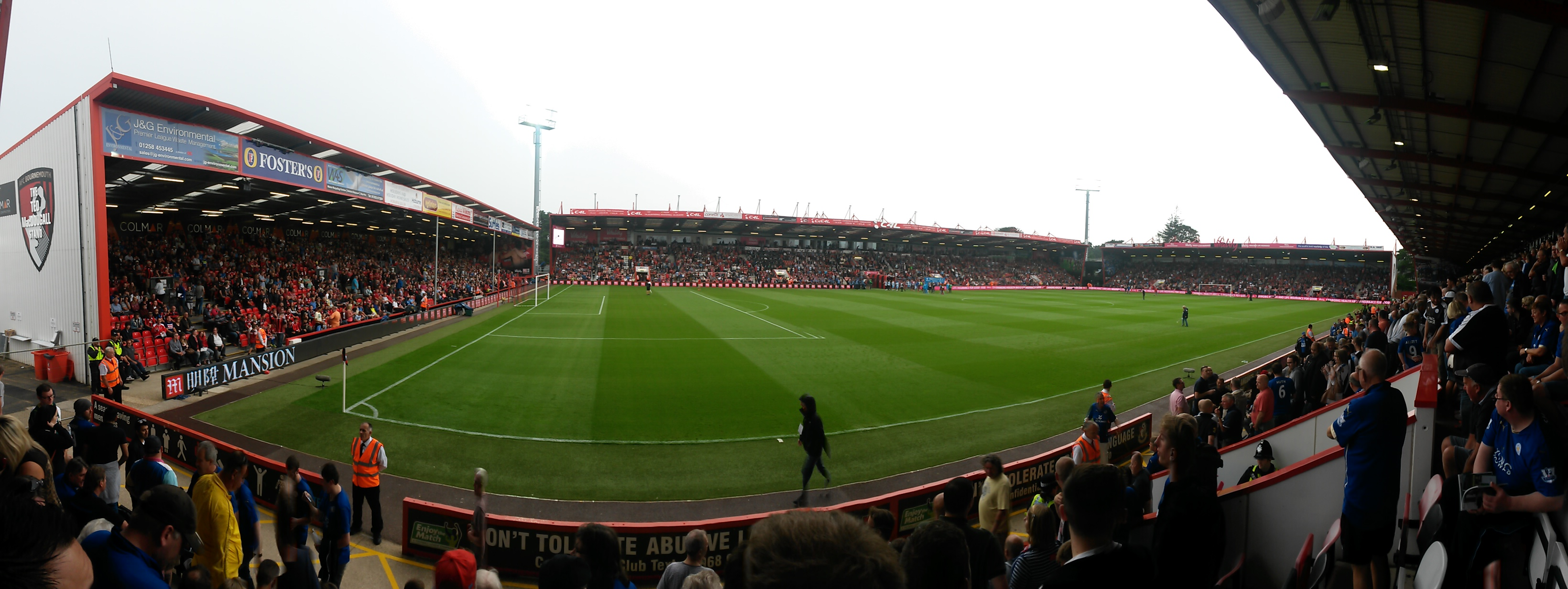 AFC Bournemouth v Leicester City 29-08-2015