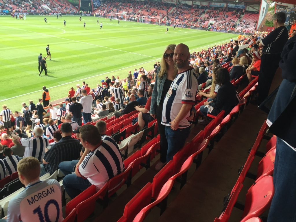 AFC Bournemouth v West Brom 07-05-2016