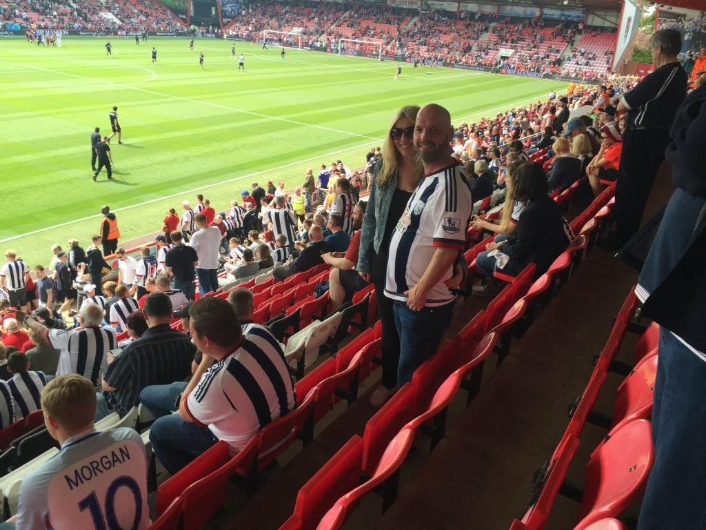 AFC Bournemouth v West Brom 07-05-2016