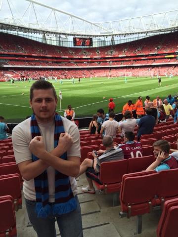 Arsenal v West Ham 09-08-2015