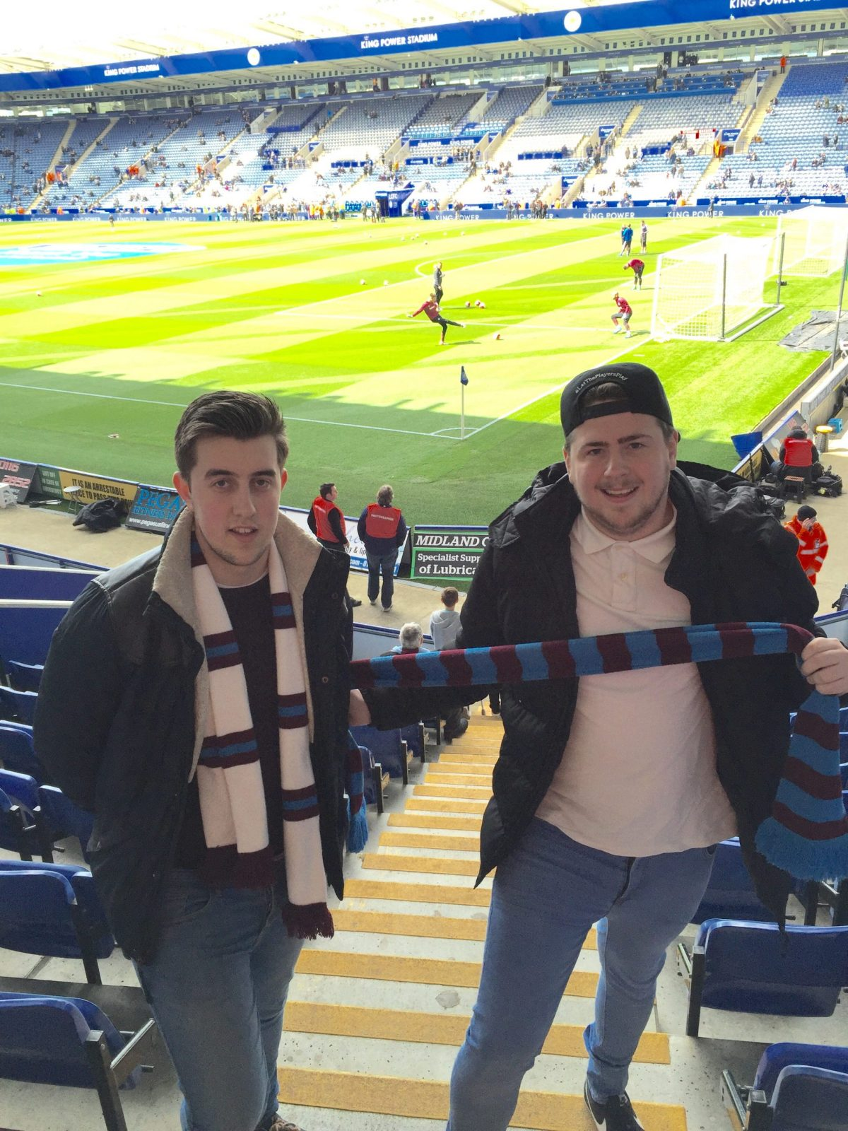 Leicester City v West Ham 17-04-2016