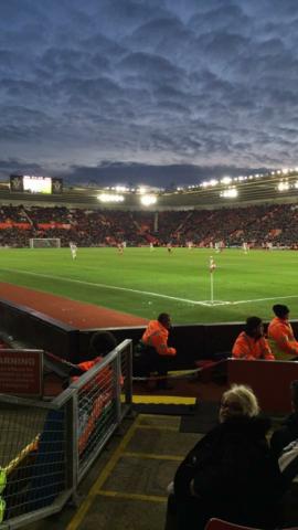 Southampton v West Brom 16-01-2016
