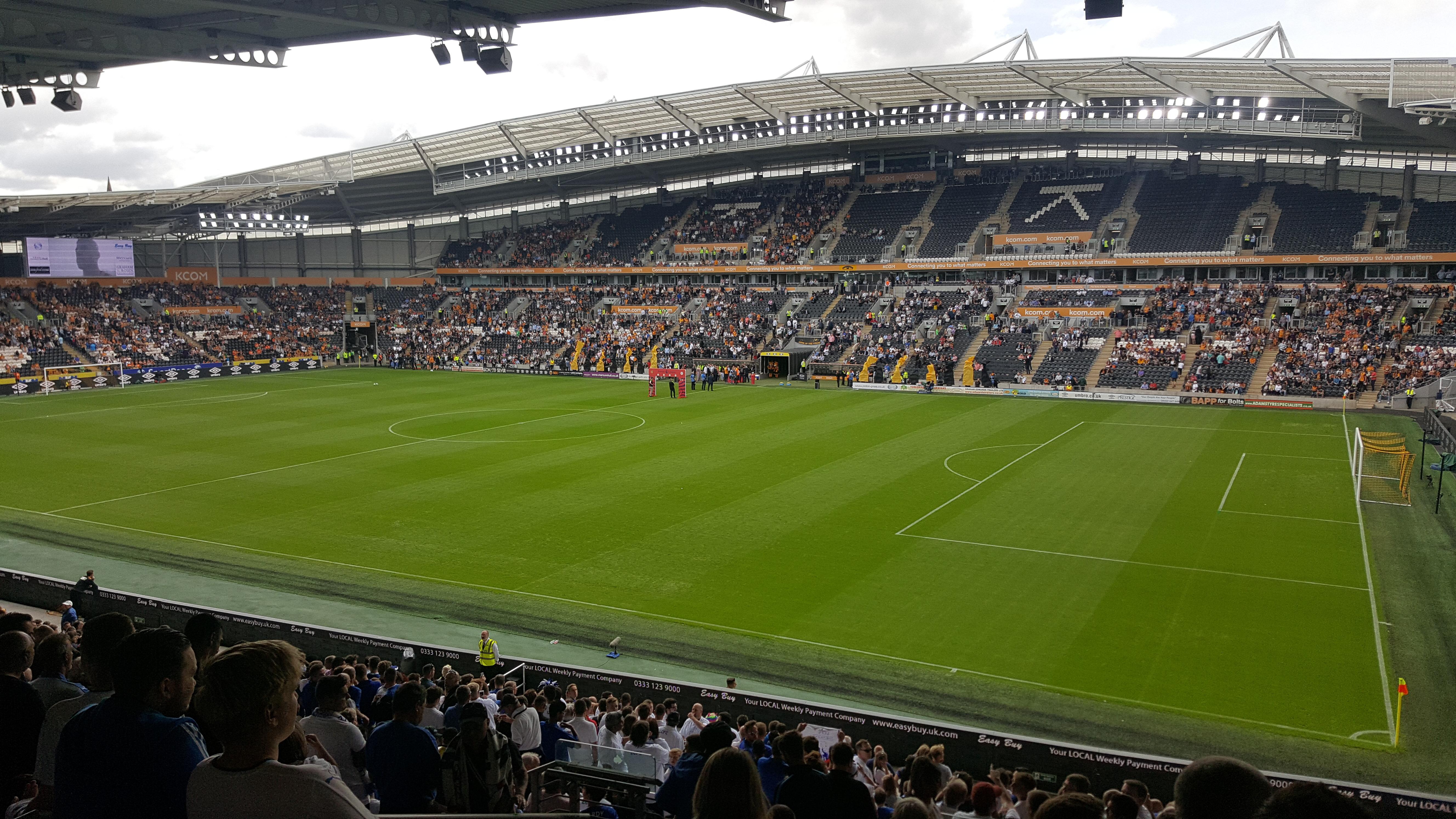 Hull City v Leicester City 13-08-2016
