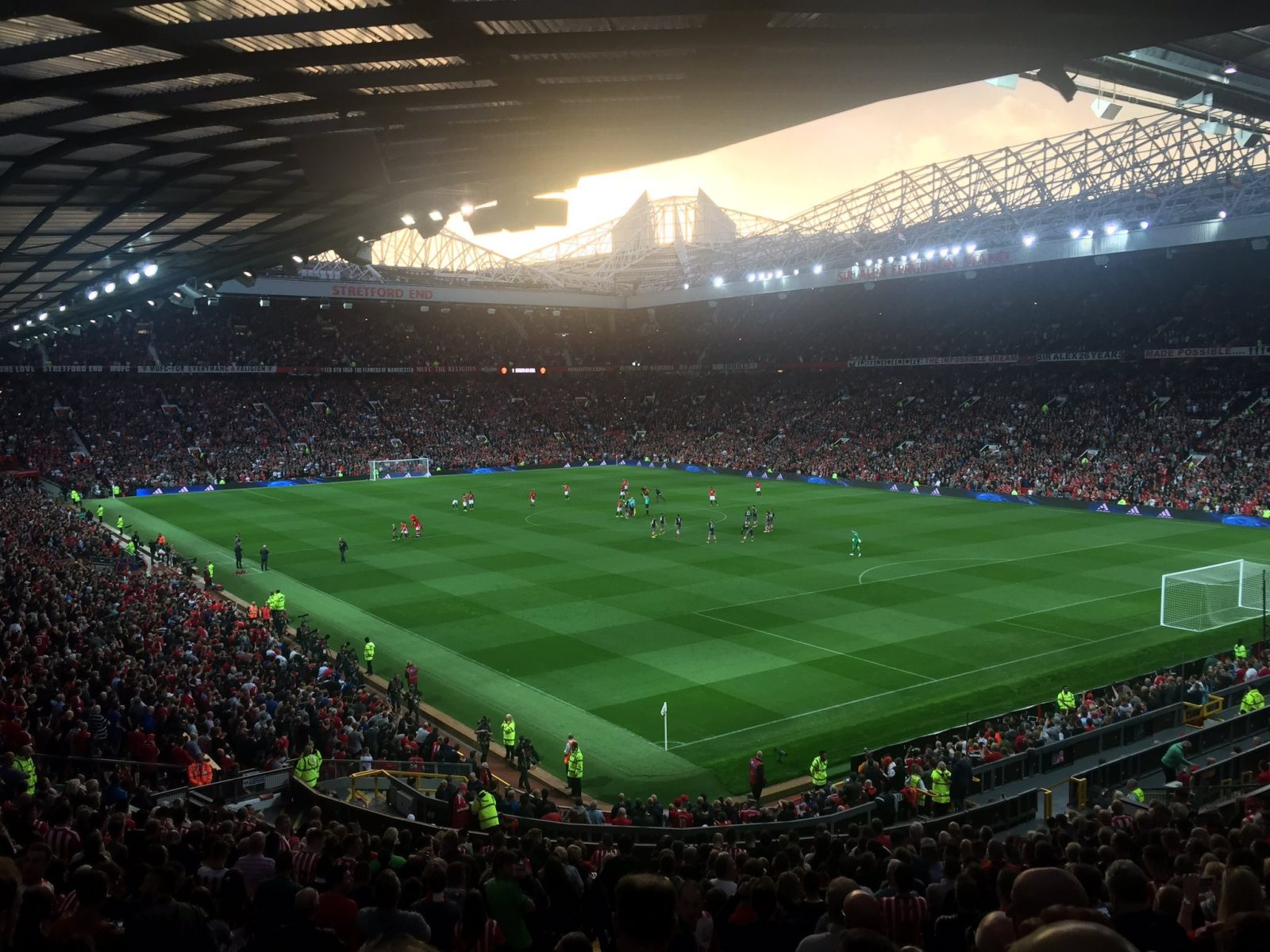Manchester United v Southampton 19-08-2016