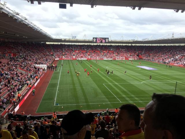 Southampton v Watford 13-08-2016