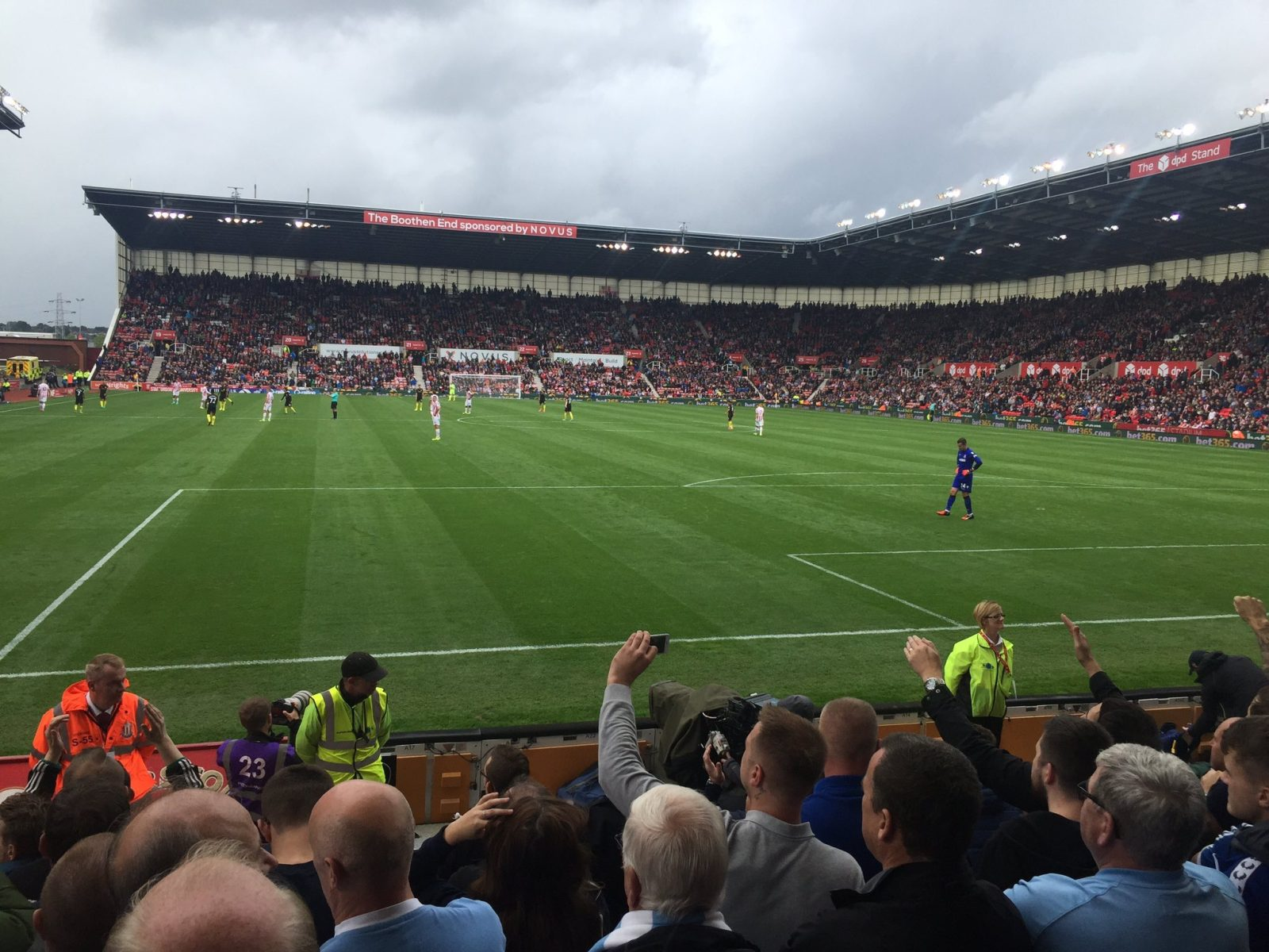 Stoke v Manchester City 20-08-2016