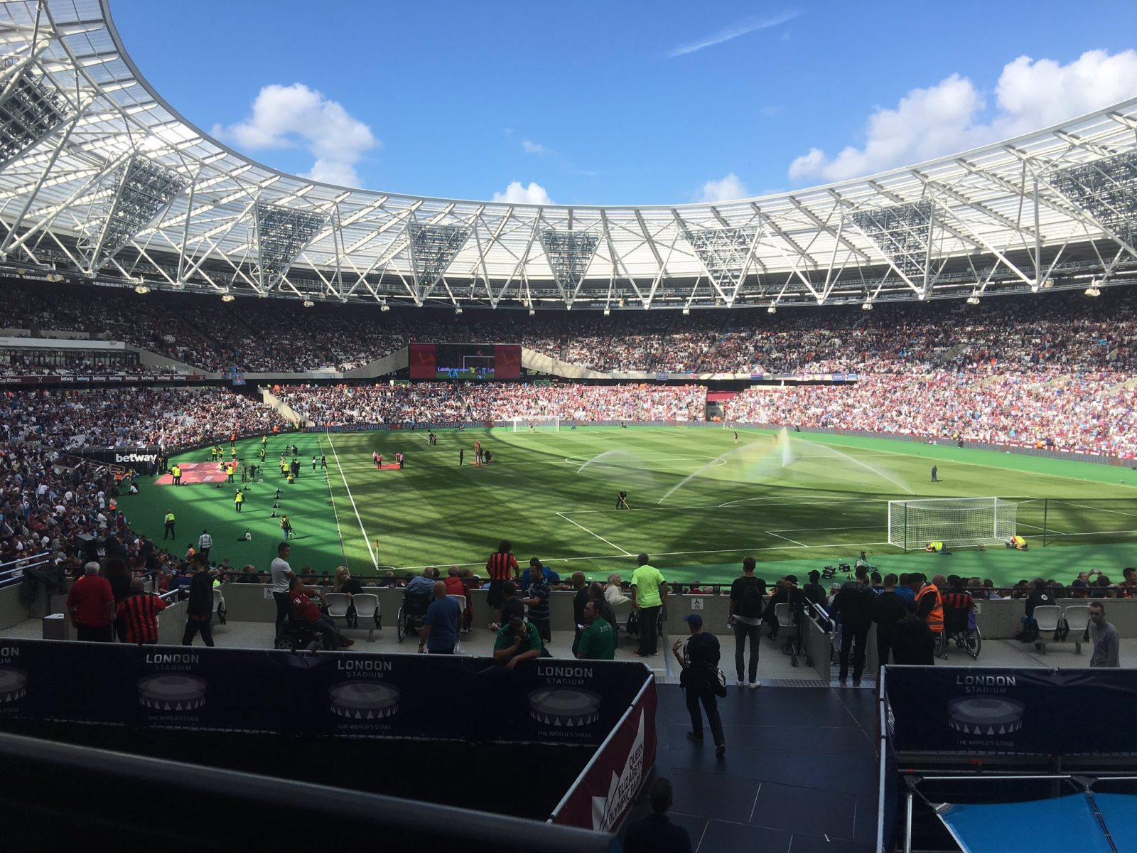 West Ham v AFC Bournemouth 21-08-2016