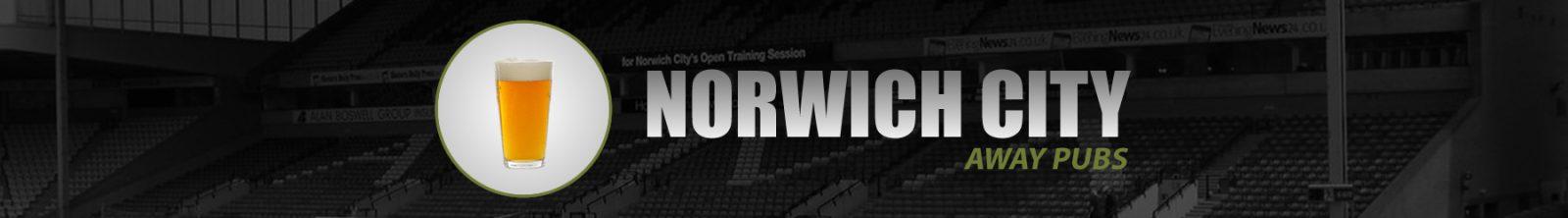 Norwich City Away Pubs