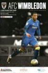 AFC Wimbledon Programme