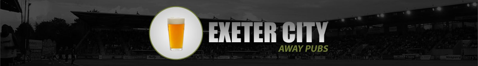 Exeter City Away Pubs