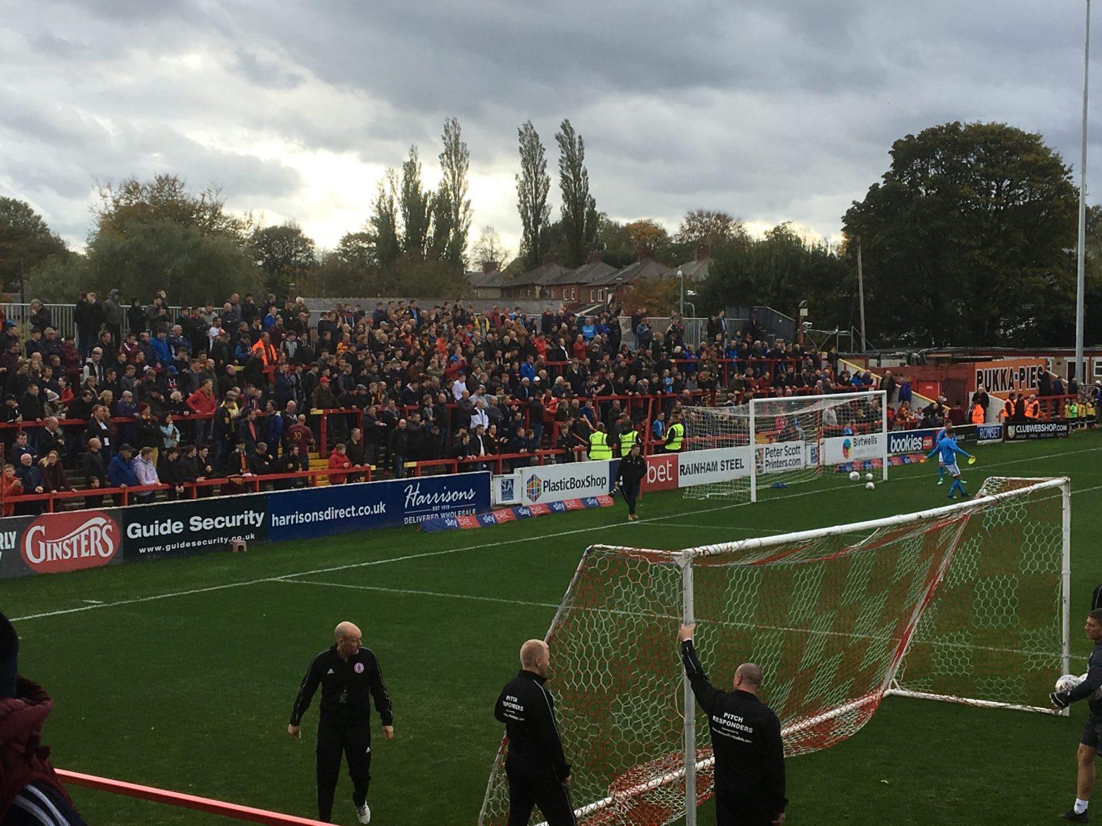 Accrington Stanley v Bradford City 13-10-2018