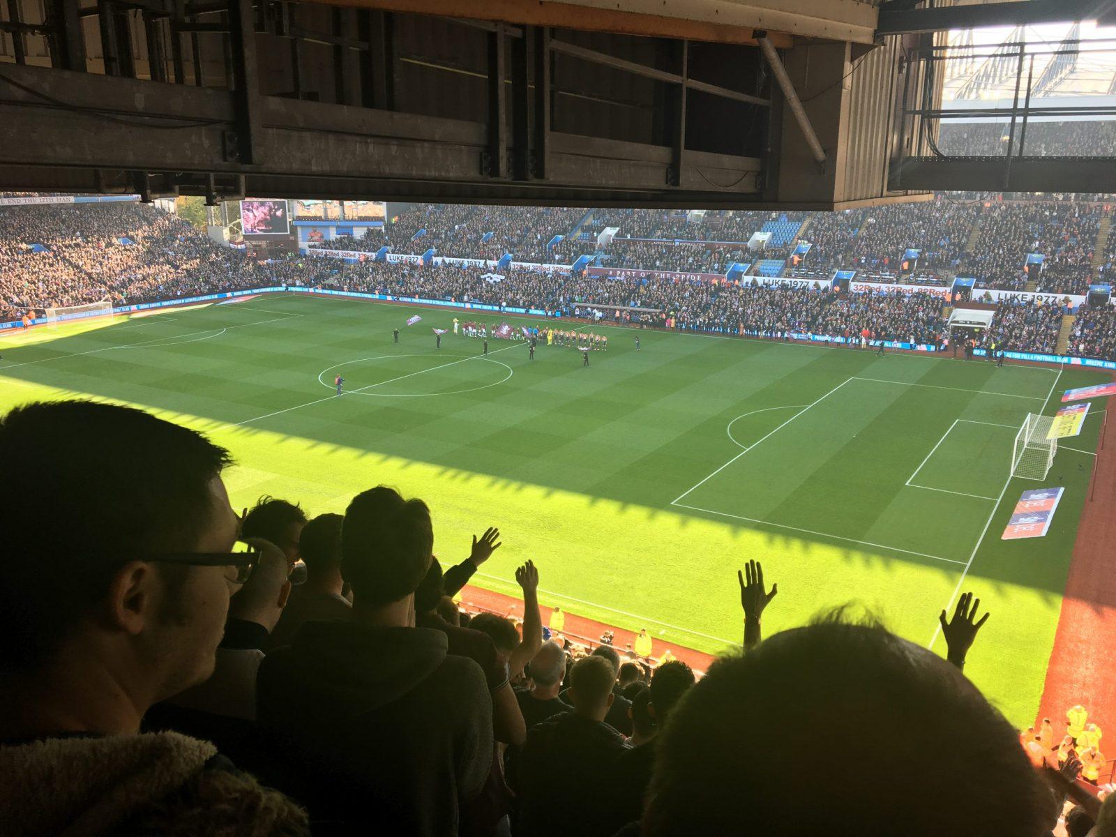 Aston Villa v Swansea City 20-10-2018