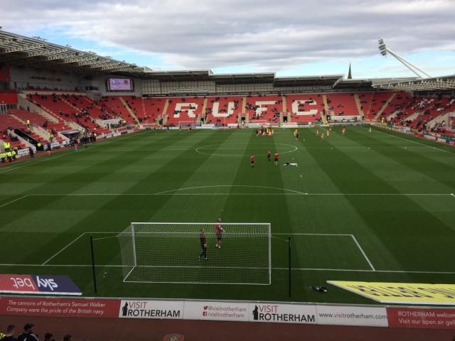 Rotherham United v Bolton Wanderers 20-10-2018