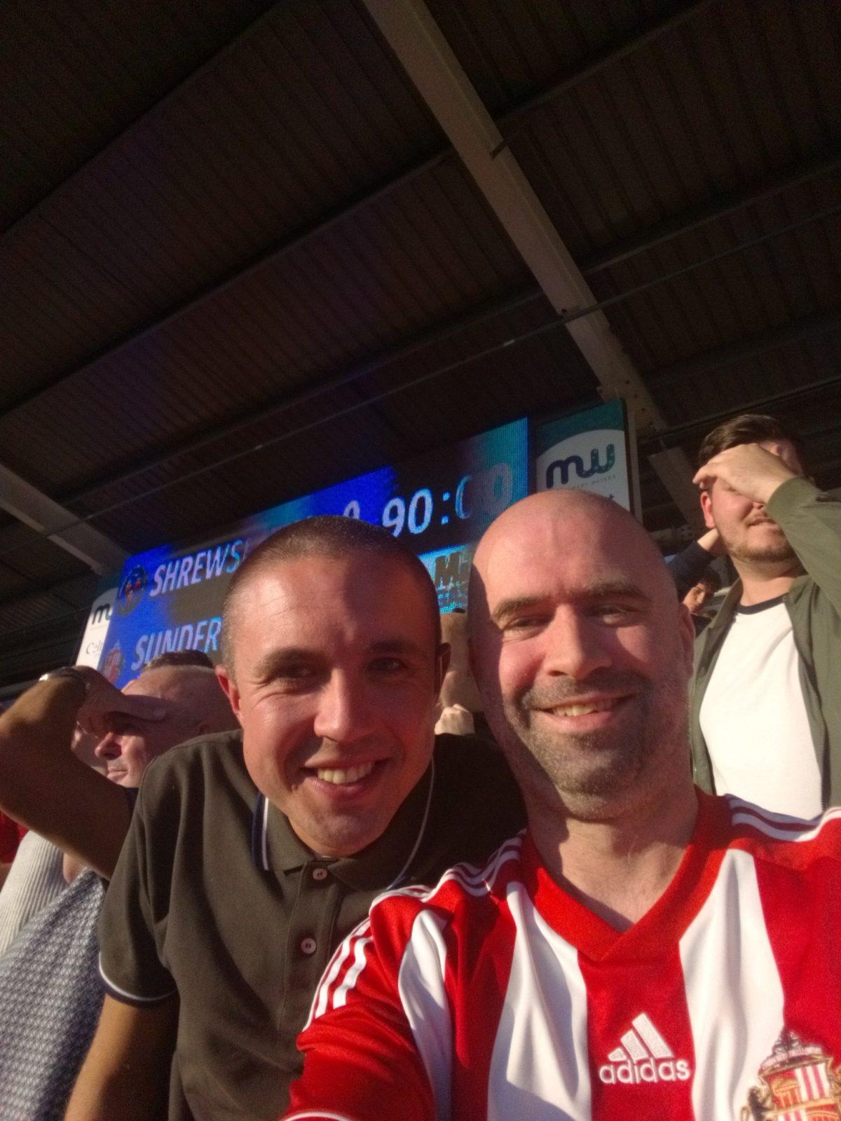 Shrewsbury Town v Sunderland 20-10-2018