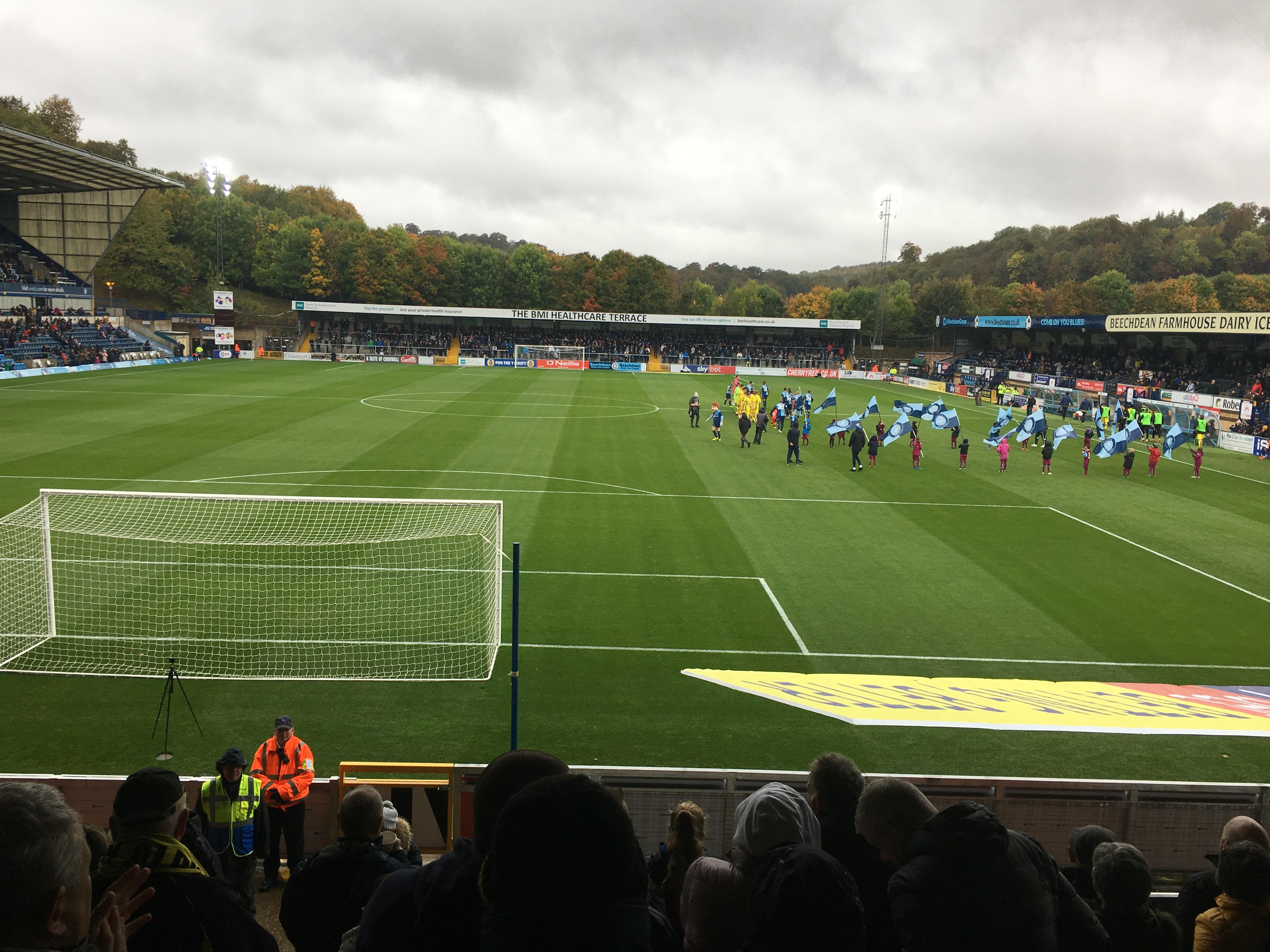 Wycombe Wanderers v Burton Albion 06-10-2018