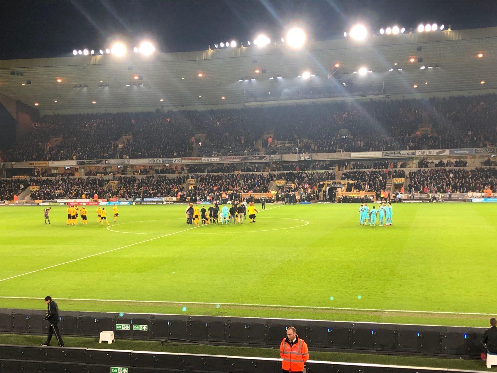 Wolves v Newcastle United 11-02-2019