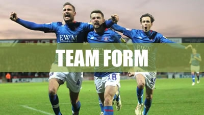 League Two Team Form