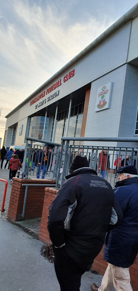 Southampton v Wolves 18-01-2020