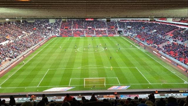 Sunderland v Bristol Rovers 22-02-2020