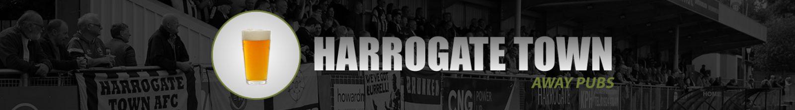 Harrogate Town Away Pubs